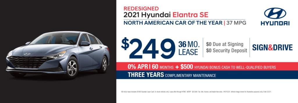 New 2021 Hyundai Elantra