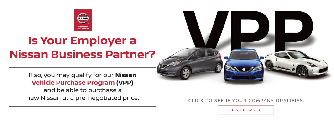 Nissan VPP Special Offer