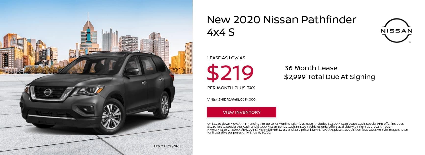 2020-Nissan-Pathfinder-4×4-S-51