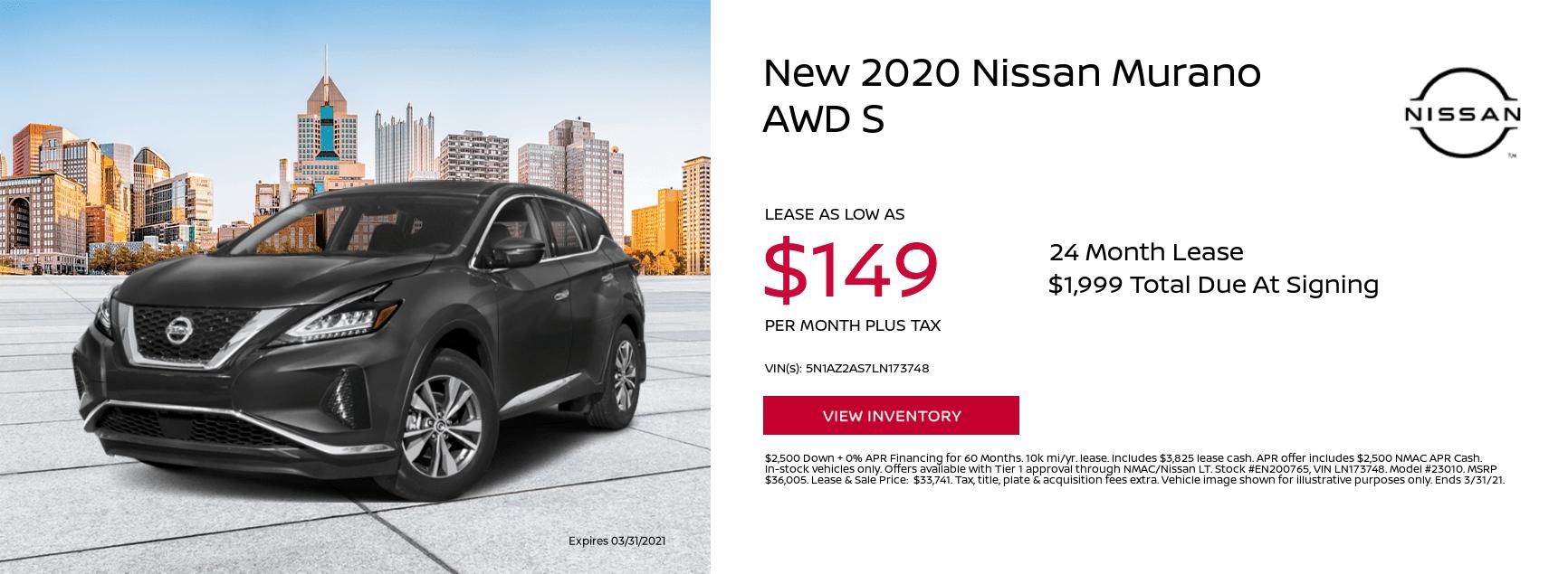 2020-Nissan-Murano-AWD-S-0