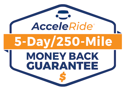 Acceleride Money Back Guarantee