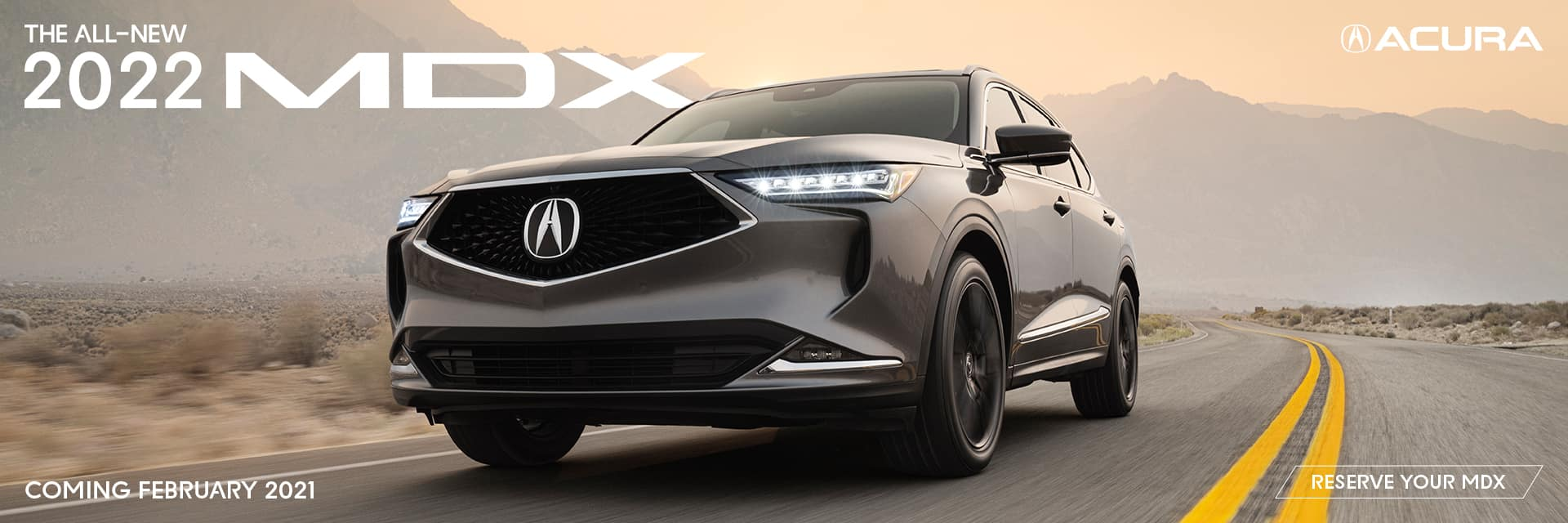 reserve your 2022 MDX