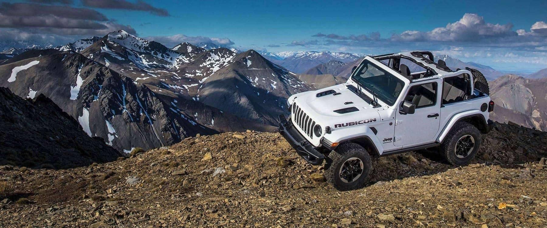 2018 Jeep Wrangler Rubicon White Mountain