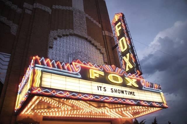 Fox Theatre Marquee