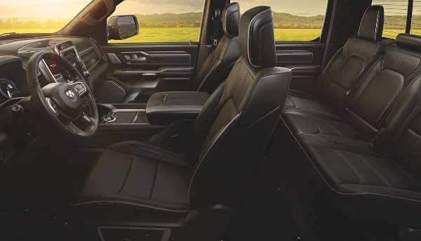 2020 RAM 1500 interior cabin