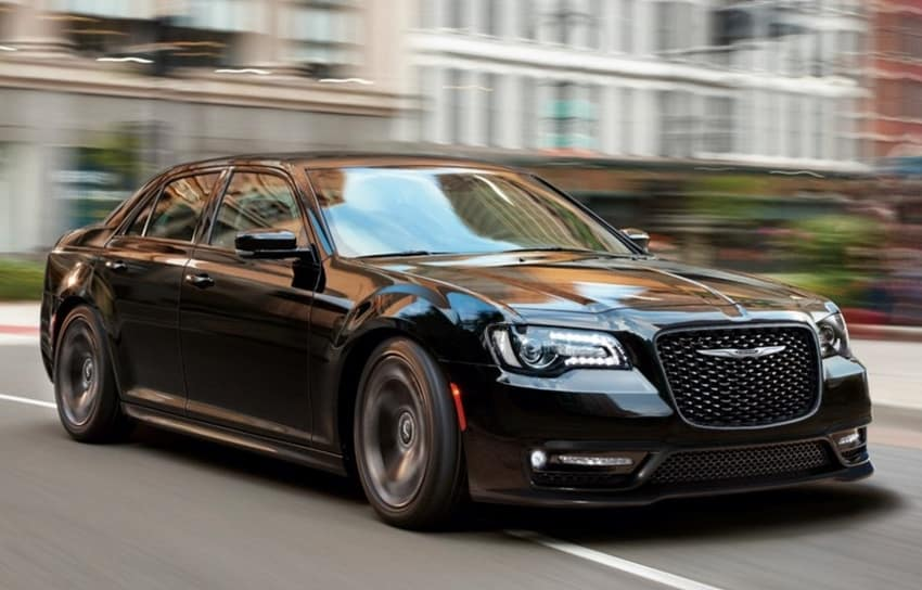 2020 Chrysler 300 black