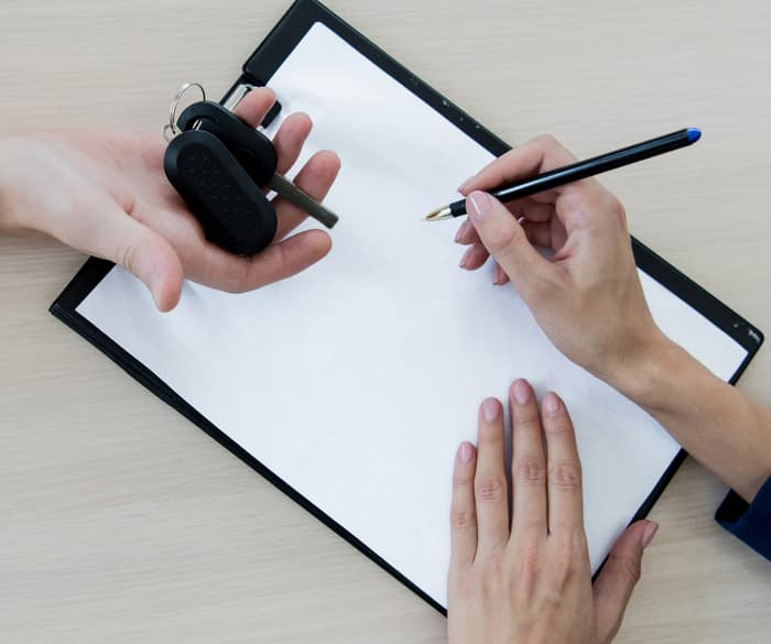 signing paper;keys