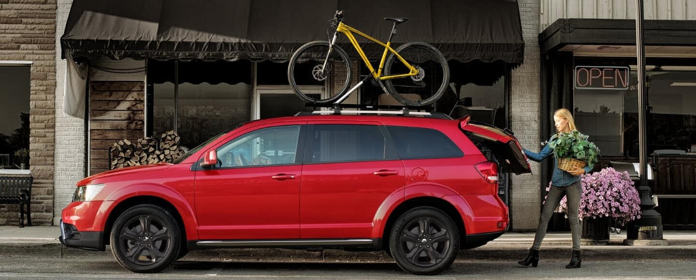 2020 red dodge journey
