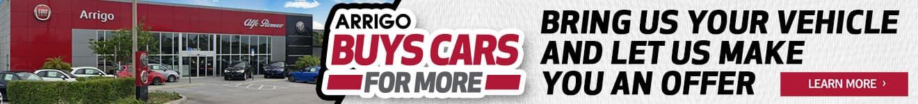 Arrigo Buys Cars For More
