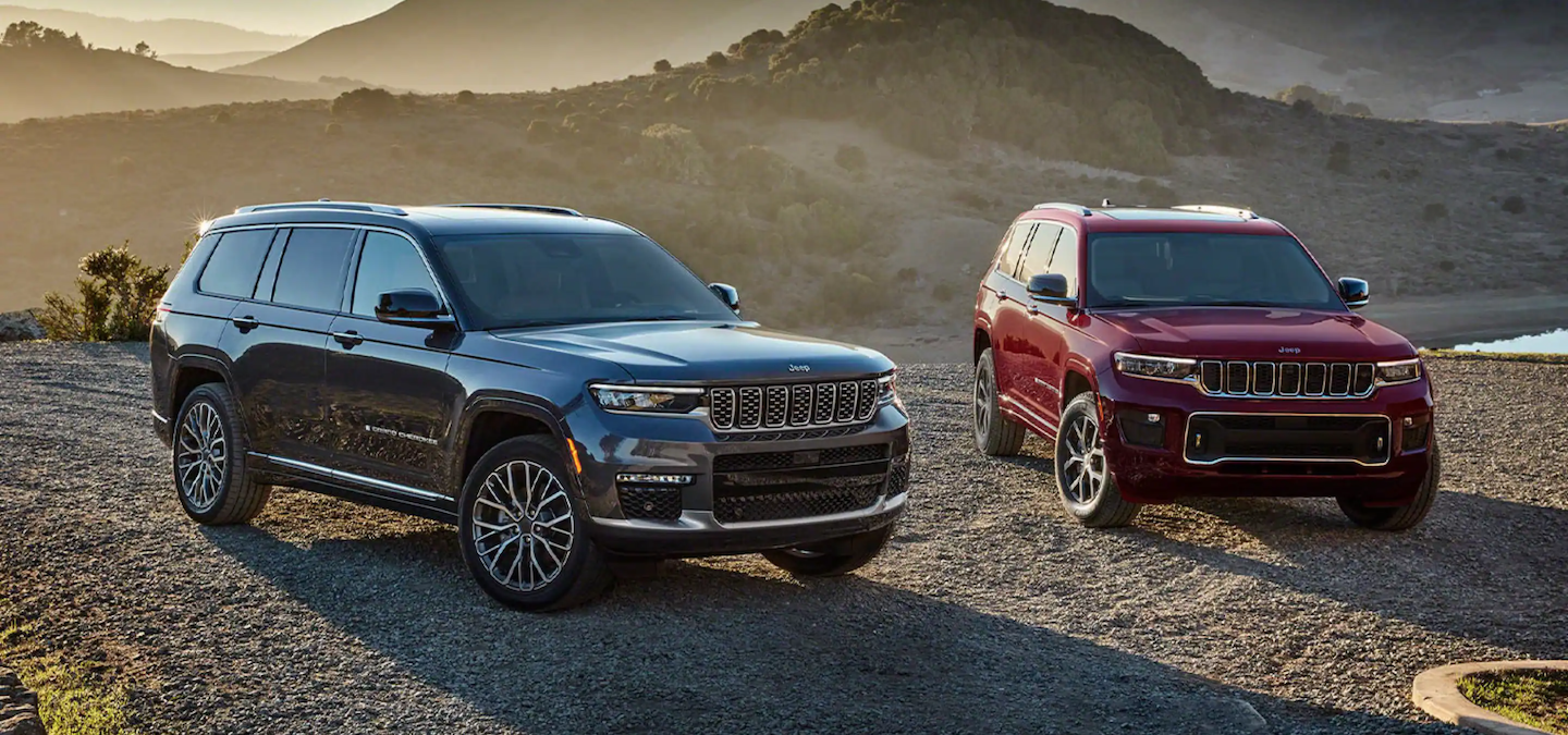 Two 2021 Jeep Grand Cherokee L models available in West Palm Beach