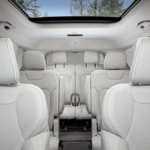 The interior of the new 2021 Jeep Grand Cherokee L available in West Palm Beach.