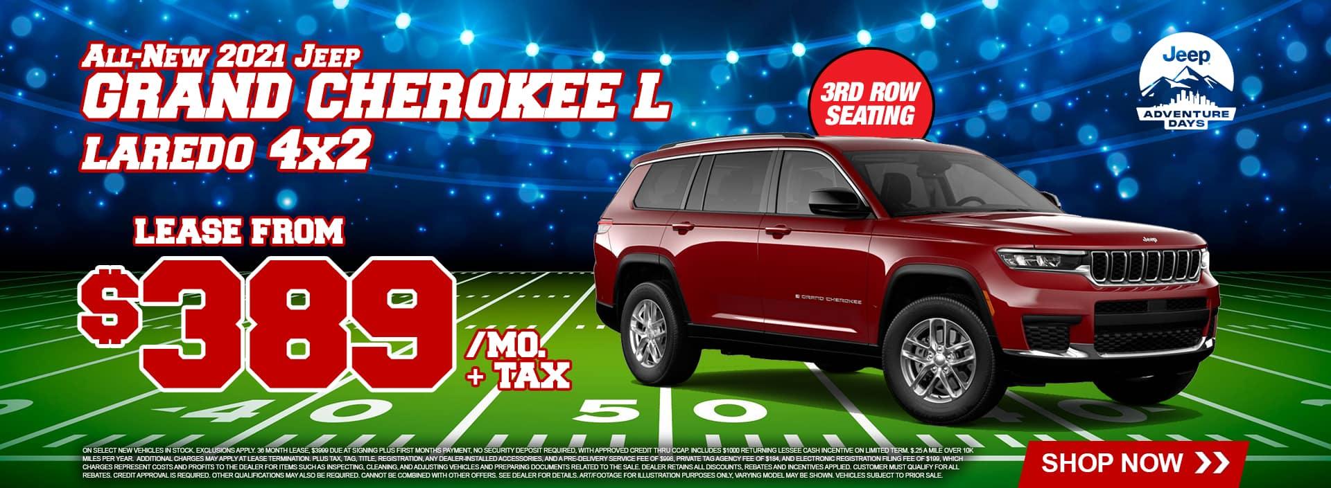 2021 Grand Cherokee L Lease Deals