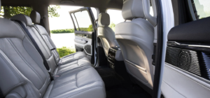The second-row of the 2022 Jeep Wagoneer available in West Palm Beach.