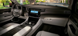 The front row of the 2022 Jeep Wagoneer available in Fort Pierce