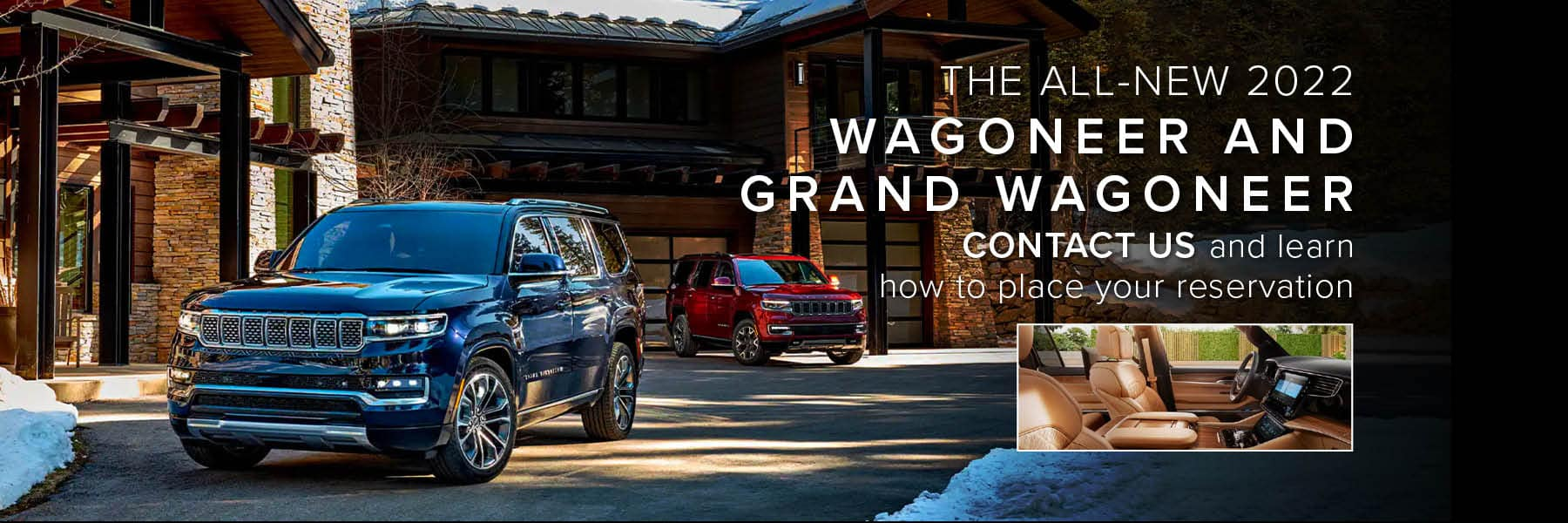 Wagoneer and Grand Wagoneer