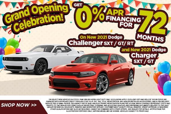 2021 Dodge Charger & Dodge Challenger