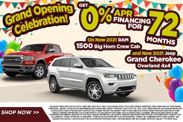 2021 Ram 1500 & 2021 Jeep Grand Cherokee