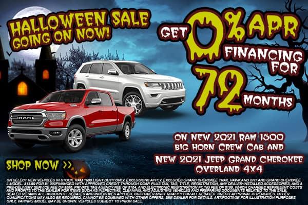 2021 Ram 1500 & 2021 Jeep Grand Cherokee Overland