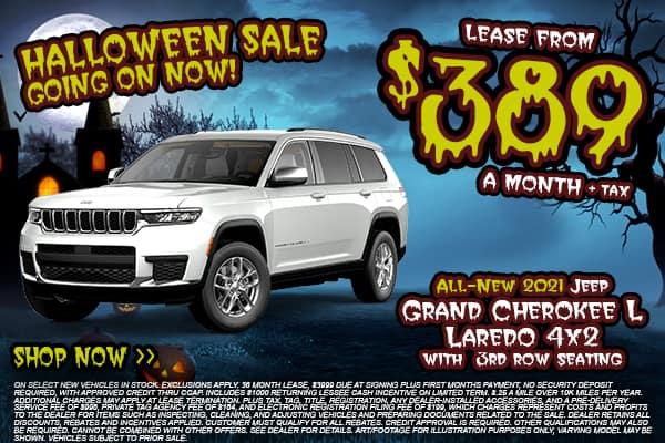2021 Grand Cherokee L Laredo