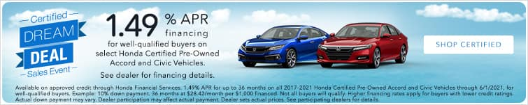 certified pre owned banner