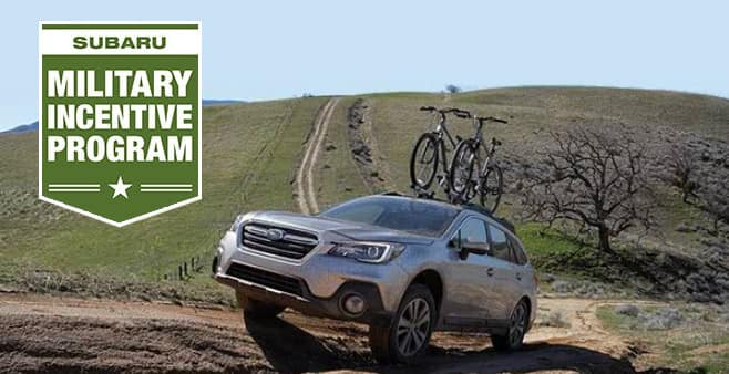 Austin Subaru Military Incentive Program
