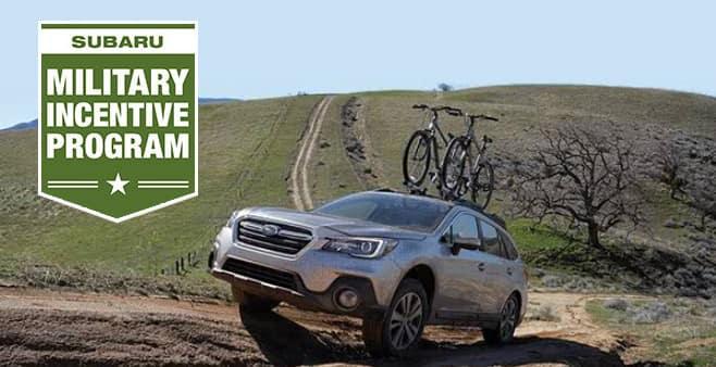 Austin Subaru Military Incentive Program