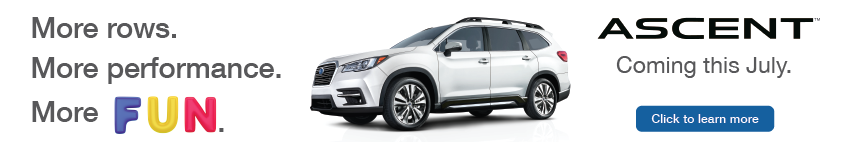 Subaru Ascent Coming in July