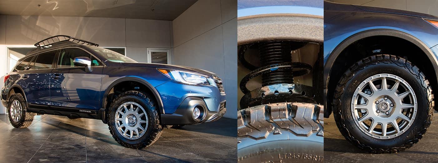 Baileigh Cooper Austin Subaru Custom Outback Build