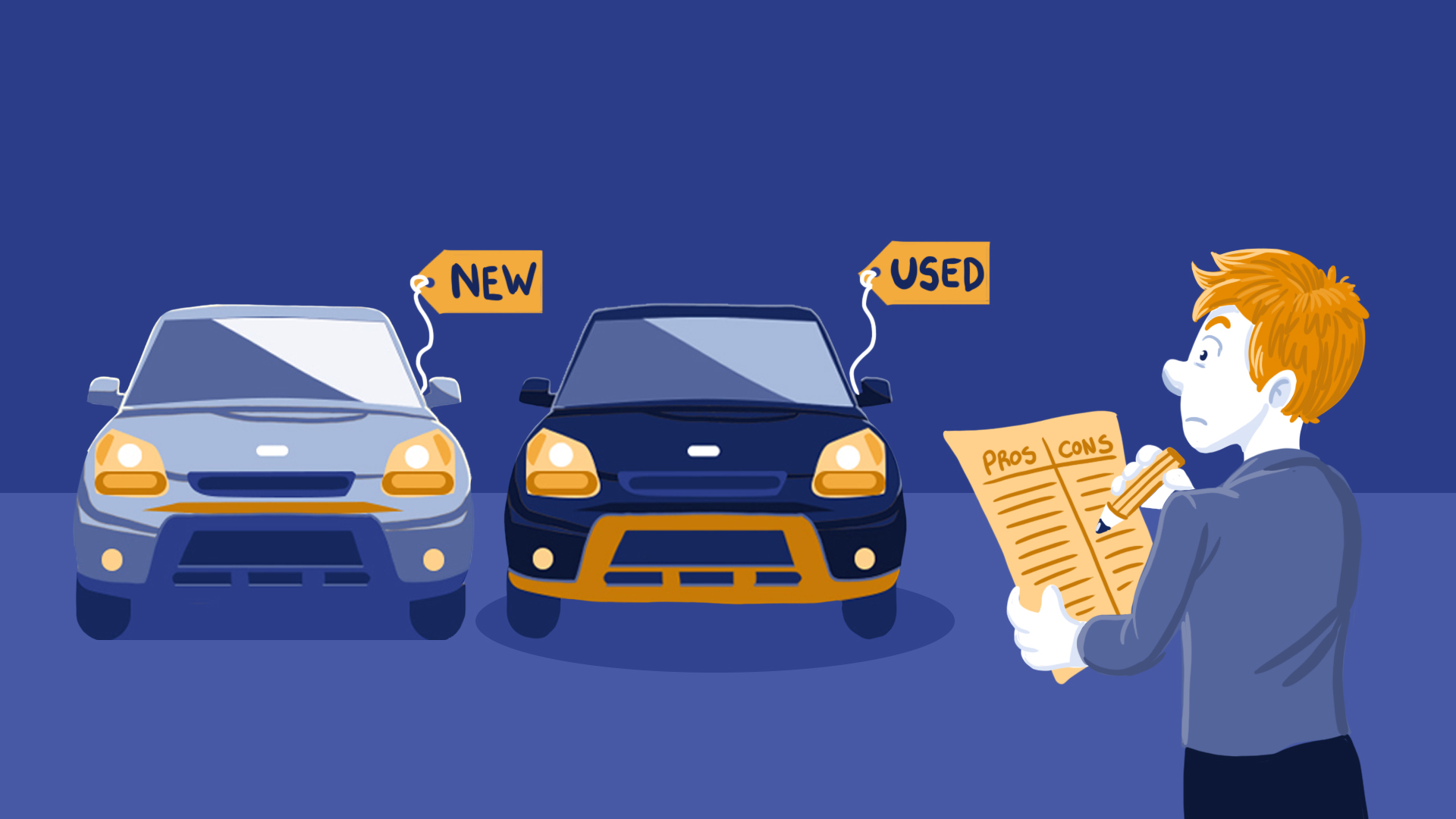 buying a car new vs used If you've been browsing ads for a new car, maybe you've wondered if you also ought to consider buying used but if you begin exploring both new and used cars, you may start to get dizzy from all the choices.