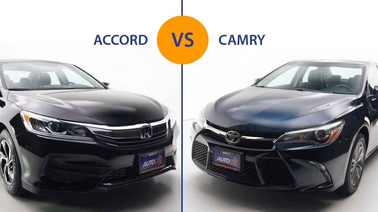 Toyota Camry Vs Honda Accord >> Honda Accord Vs Toyota Camry Is There A Clear Winner