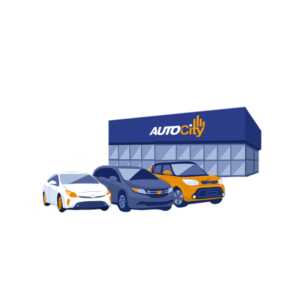 used car shopping at Auto City