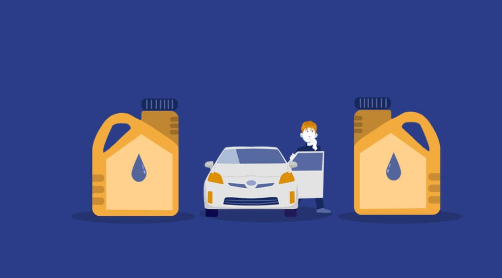 synthetic and conventional oil