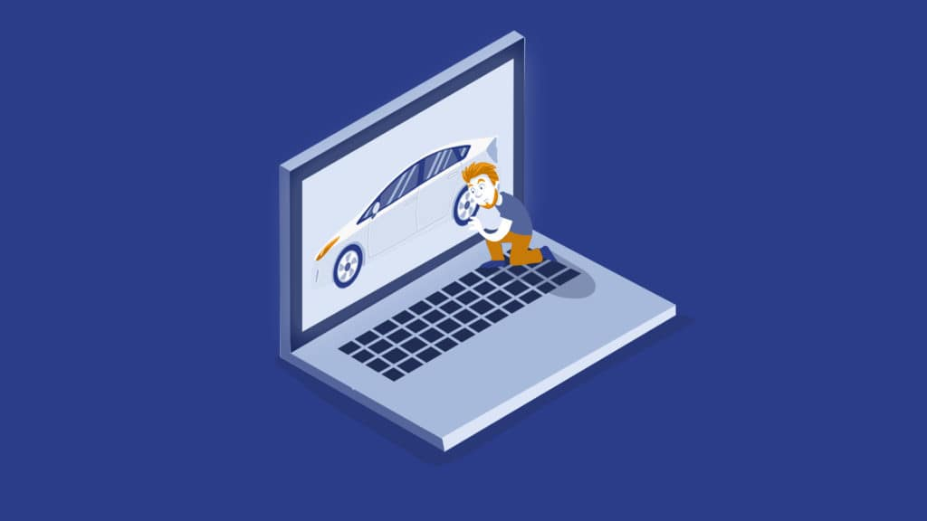 online used car shopping risks