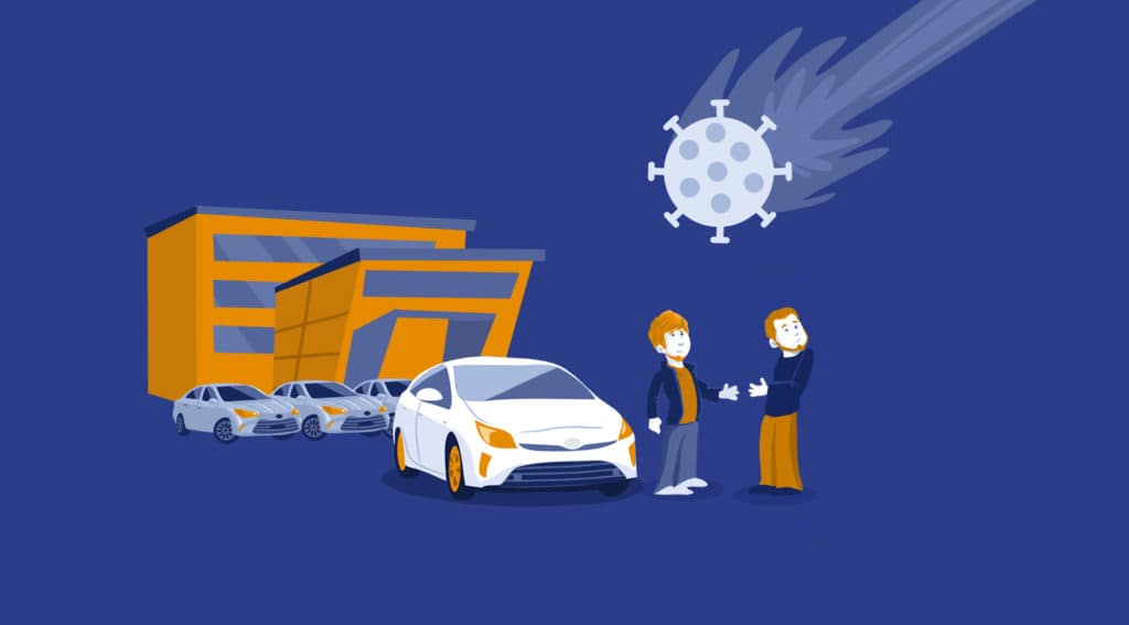 covid and used car shopping long terms impact