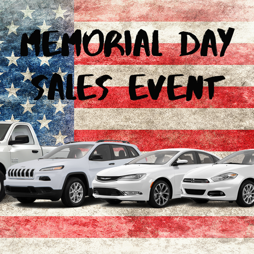 Awesome Memorial Day Offers On FCA Cars