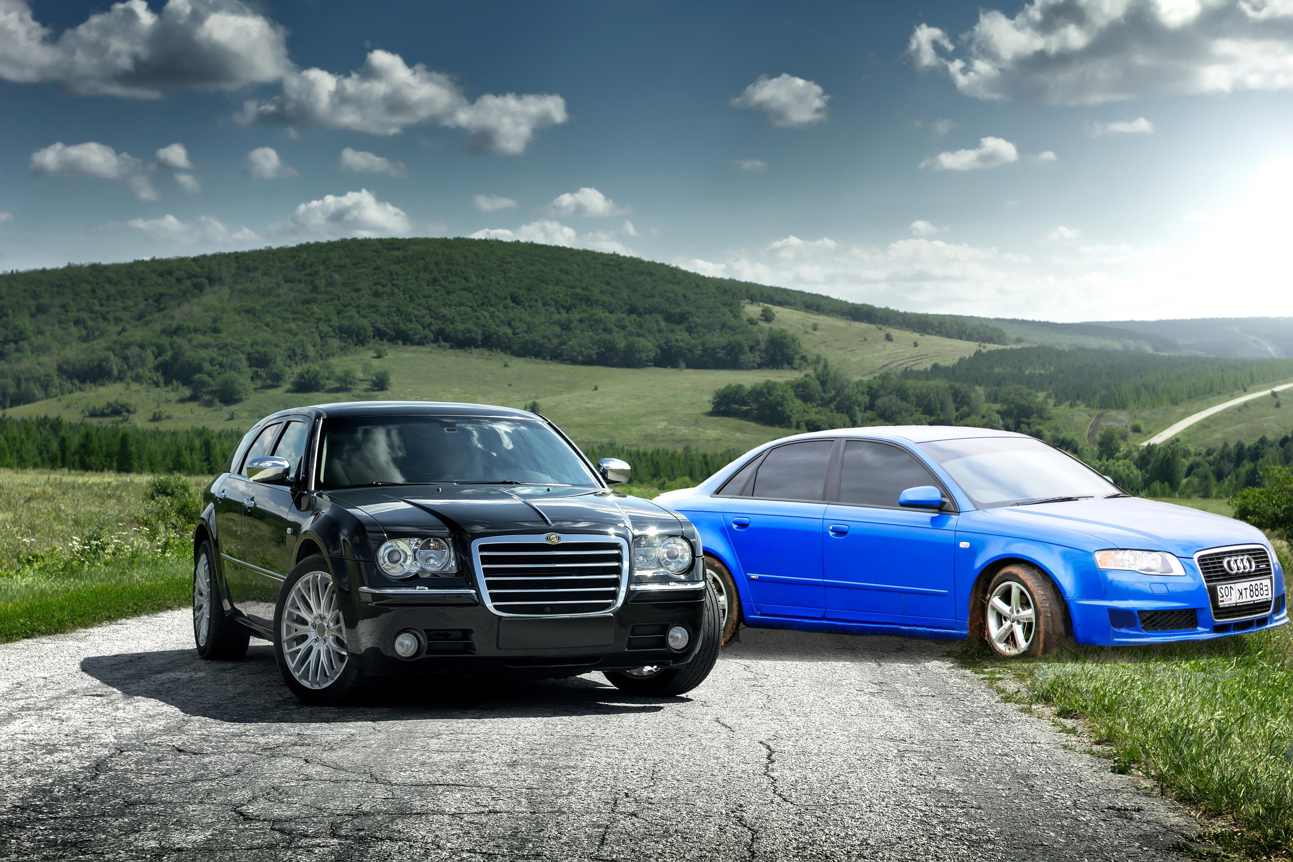 car comparison chrysler 300 vs audi a4 aventura chrysler jeep dodge ram. Black Bedroom Furniture Sets. Home Design Ideas
