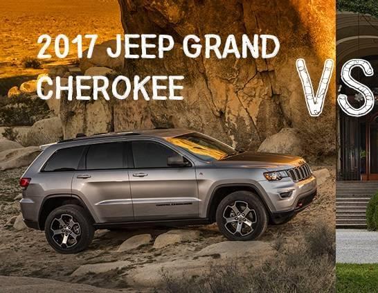 Luxury SUVs: Jeep Grand Cherokee SRT v  Land Rover Range Rover