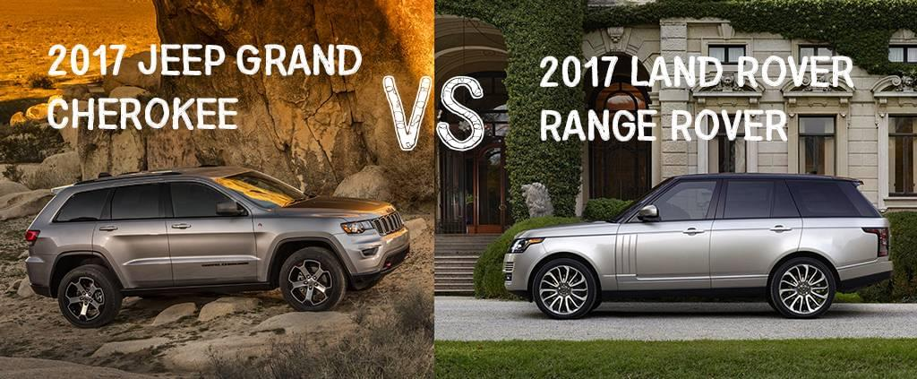 Aventura Jeep Grand Cherokee Comparison Range Rover