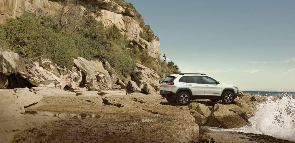 Aventura 2017 Jeep Cherokee Trailhawk Trail Rated