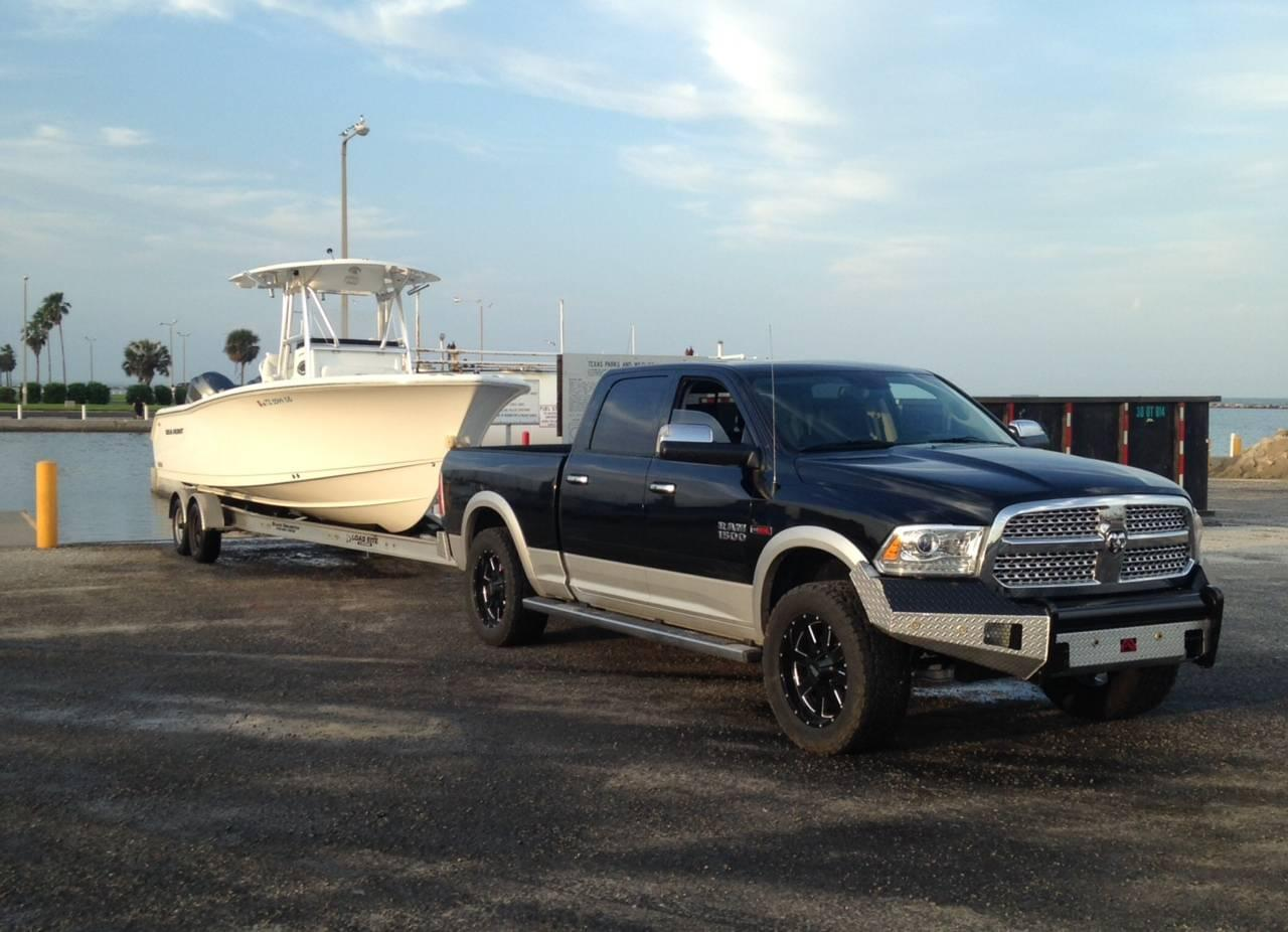 Ram 1500 Towing Capacity >> Towing A Boat Dodge And Ram Have You Covered With An Suv Or