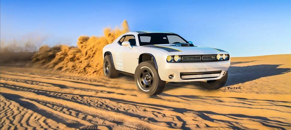 Aventura CJDR Dodge Challenger Off-Road A/T