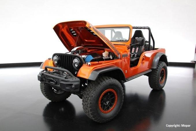 Aventura Easter Jeep CJ66 Concept