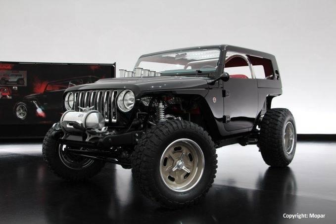 Aventura Easter Jeep Quicksand Concept