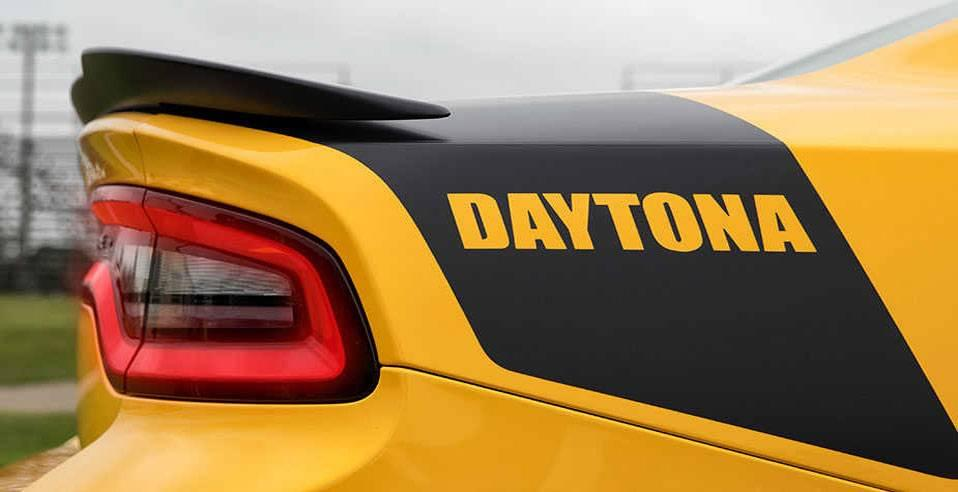 Aventura 2017 Dodge Charger Daytona Decal