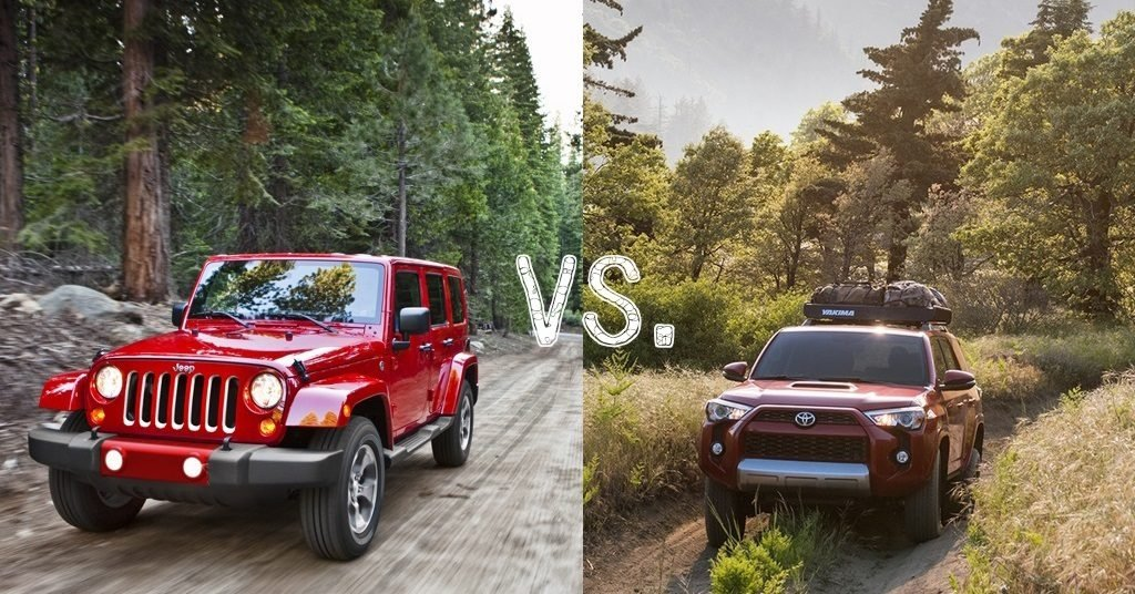 Aventura Jeep Wrangler Unlimited Comparison Toyota 4runner