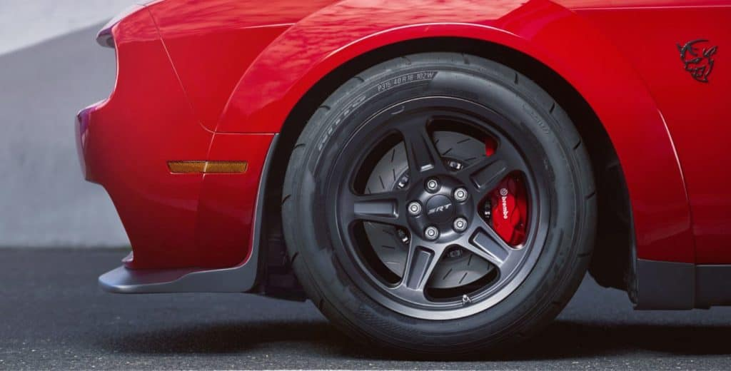 Aventura 2018 Dodge Demon Wheels Brakes