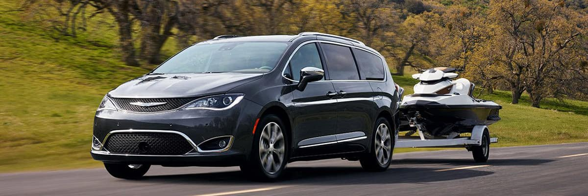 Aventura 2018 Chrysler Pacifica Power