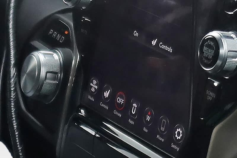 Aventura 2019 Ram 1500 Tech Close-Up