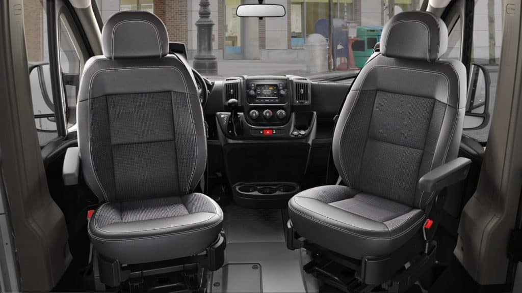 Aventura Auto 2018 Ram ProMaster Mobile Entertainment Seating