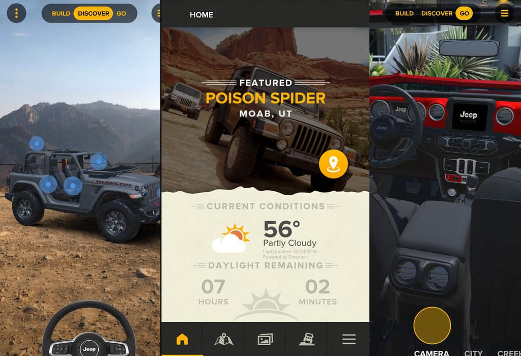 Aventura Auto 2018 Jeep Mobile Apps